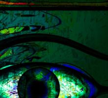 Mystical Egyptian Eye of Horus Sticker
