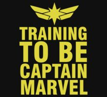 Training to be Captain Marvel Carol Danvers Carolcorps by mashedelephants