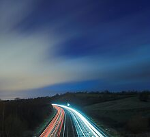 Light Trails by Michael Walton
