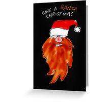 Ranga christmas Greeting Card