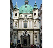 Peterskirche, Vienna Photographic Print