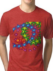 vivid star circles Tri-blend T-Shirt