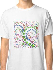 vivid star composition Classic T-Shirt
