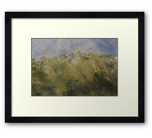 HDR Composite - Maple Reflection in Pond Framed Print