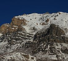 Provo Canyon - Winter Sunshine by Ryan Houston