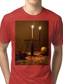First Candle Tri-blend T-Shirt