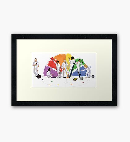 COMMUNITY Framed Print