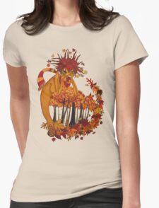 Autumn Spirit Womens Fitted T-Shirt