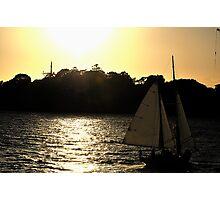 Sailing Into Glory -Sydney Harbour Sydney Australia Photographic Print