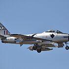 Sabre Flypast, Point Cook Airshow, Australia 2014 by muz2142