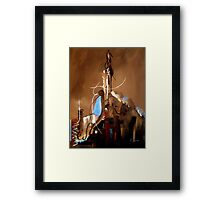 Reaching For Heaven Genesis 11 Framed Print