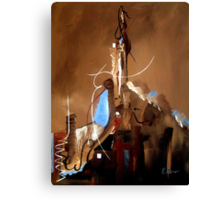 Reaching For Heaven Genesis 11 Canvas Print