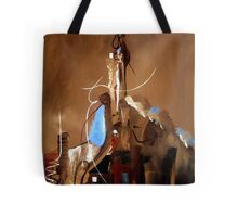 Reaching For Heaven Genesis 11 Tote Bag