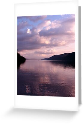 Evening on Loch Ness by jacqi