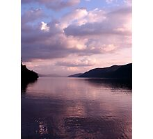 Evening on Loch Ness Photographic Print