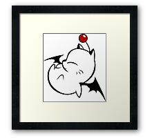 Kupo! ( Moogle / Final Fantasy ) Framed Print