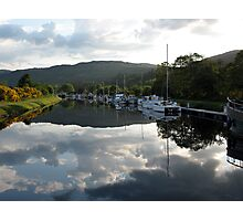 Caledonian Canal near Inverness Photographic Print