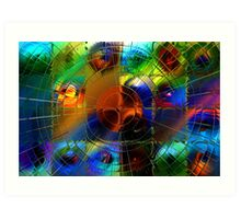 Mapping Planetary Motion Art Print
