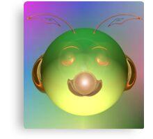 Alien Happy Face? Canvas Print