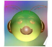 Alien Happy Face? Poster