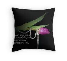 Stay Connected Throw Pillow