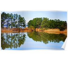 James River Reflections 1 Poster