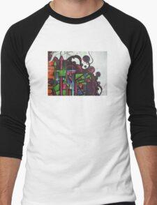street art: cityscape Men's Baseball ¾ T-Shirt