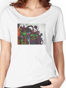 street art: cityscape Women's Relaxed Fit T-Shirt
