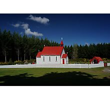 Waitetoko Church Photographic Print