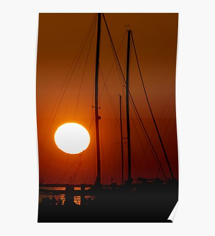 End of Day in Biloxi Poster