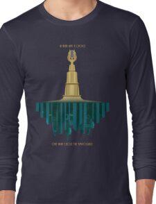 Bioshock Faux Movie Poster Long Sleeve T-Shirt