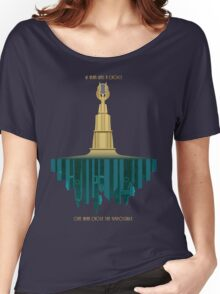 Bioshock Faux Movie Poster Women's Relaxed Fit T-Shirt