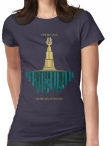 Bioshock Faux Movie Poster Womens Fitted T-Shirt