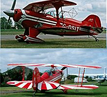 Pitts Acrobatic bi-planes  by Woodie