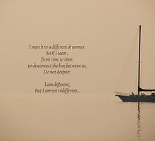 I Am Different by Maria Dryfhout
