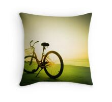 morning shine Throw Pillow
