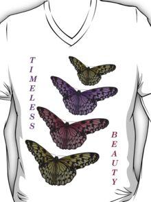 Timeless Beauty - Paper Kite Butterflies - NZ T-Shirt