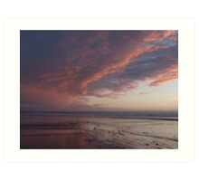 Saunton Sands North Devon A Art Print