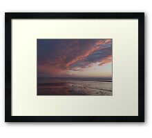Saunton Sands North Devon A Framed Print