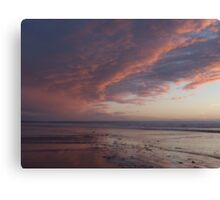 Saunton Sands North Devon A Canvas Print