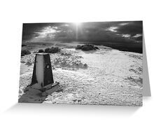 On Cleeve Hill Greeting Card