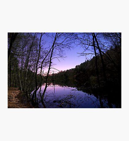 Moonlit Lake Photographic Print