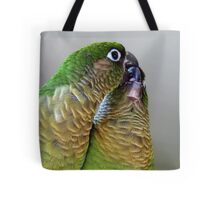 Happy Valentines Day! - Bubbles & Echo - Maroon-bellied  Conure NZ Tote Bag