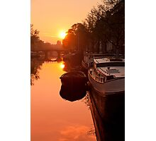 Quiet Canal Photographic Print