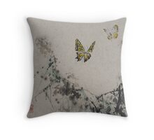 Butterfly v3 Throw Pillow