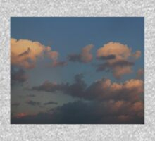 HDR Composite - Pastel Clouds at Sunset 2 One Piece - Short Sleeve