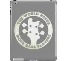 For Bass Players iPad Case/Skin