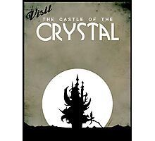 Visit the Castle of the Crystal Photographic Print