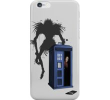 The doctor's new Moment - Dark iPhone Case/Skin