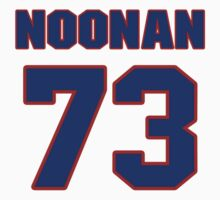 National football player Danny Noonan jersey 73 by imsport